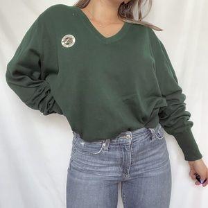 Green Vintage Sweater
